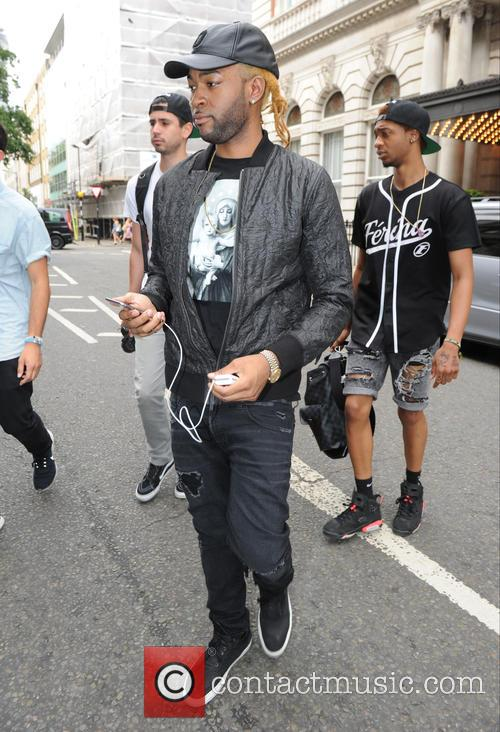 PartyNextDoor leaving his hotel for Wireless Festival 2015