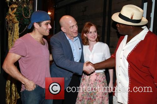 Josh Young, J.k. Simmons, Erin Mackey and Chuck Cooper 2