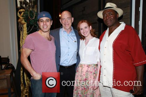 Josh Young, J.k. Simmons, Erin Mackey and Chuck Cooper 1
