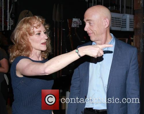 Elizabeth Ward Land and J.k. Simmons 2
