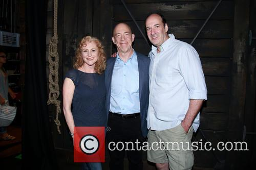 Elizabeth Ward Land, J.k. Simmons and Dan Sharkey 1