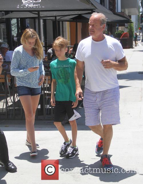 Jude Grammer, Kelsey Grammer and Mason Grammer 8