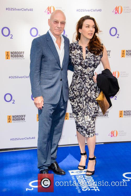 Patrick Stewart and Sunny Ozell 1