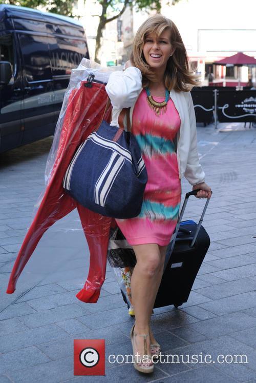 Kate Garraway arrives at Global Radio studios