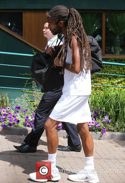 Wimbledon and Dustin Brown 5