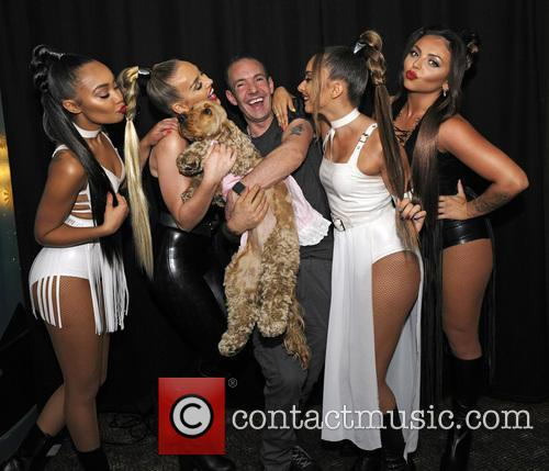 Little Mix, Jeremy Joseph, Jade Thirlwall, Perrie Edwards, Leigh-anne Pinnock and Jesy Nelson 4