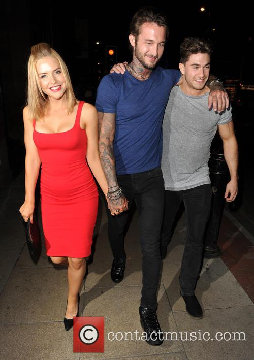 Stephanie Waring visits Club Liv with her new...