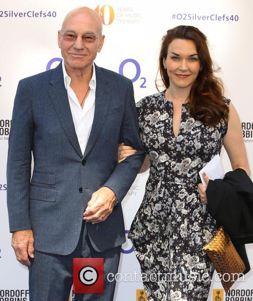 Sir Patrick Stewart and Sunny Ozell 2