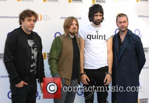 Kasabian, Ian Matthews, Chris Edwards, Sergio Pizzorno and Tom Meighan