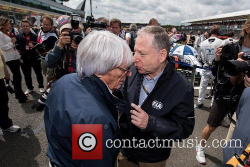 Bernie Ecclestone and Jean Todt 2