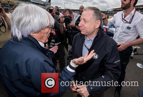 Bernie Ecclestone and Jean Todt 1