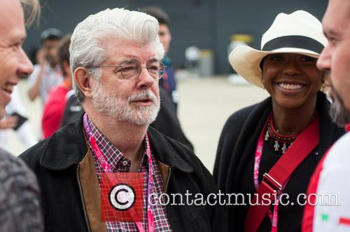 George Lucas and Mellody Hobson 1
