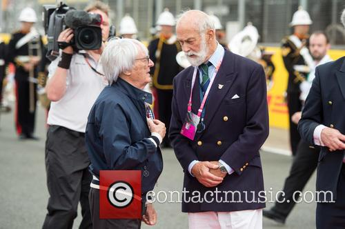 Bernie Ecclestone and Prince Michael Of Kent 4