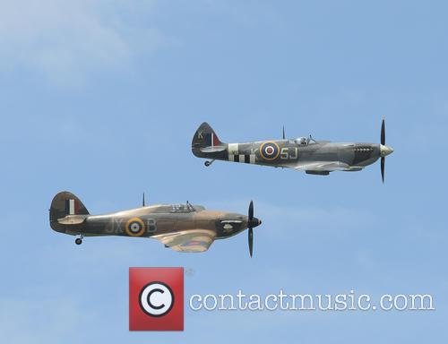 RAF Battle of Britain memorial fight