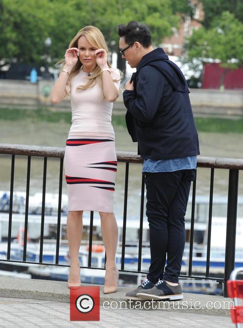 Gok Wan and Amanda Holden 9