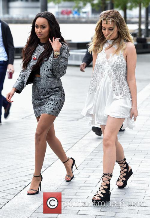 Perrie Edwards and Leigh-anne Pinnock 1