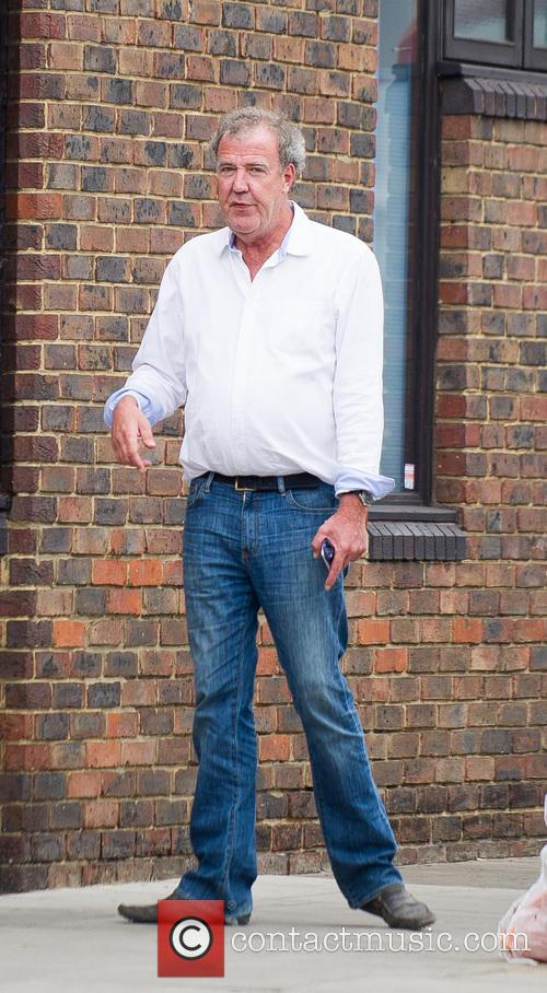 Jeremy Clarkson out and about in Notting Hill