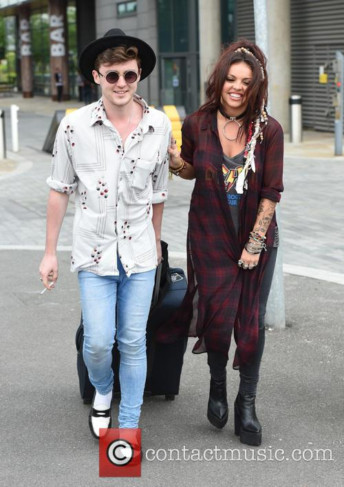 Jake Roche and Jesy Nelson 9