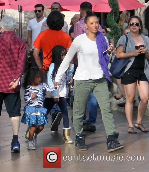 Mel B, Melanie Brown and Madison Brown Belafonte 2