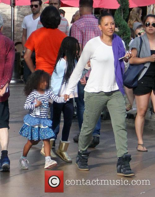 Mel B, Melanie Brown and Madison Brown Belafonte 3