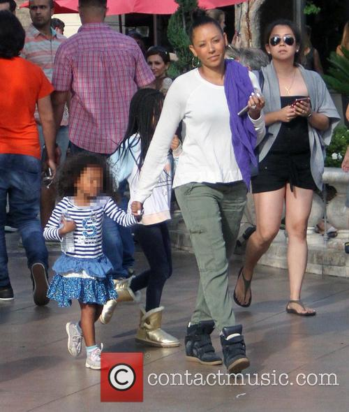 Mel B, Melanie Brown and Madison Brown Belafonte 4