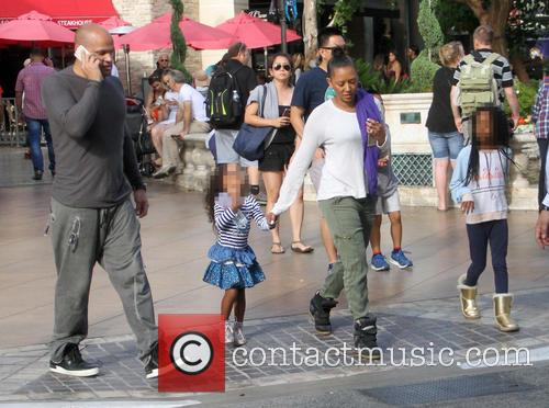 Mel B, Melanie Brown, Stephen Belafonte, Madison Brown Belafonte and Angel Iris Murphy Brown 9