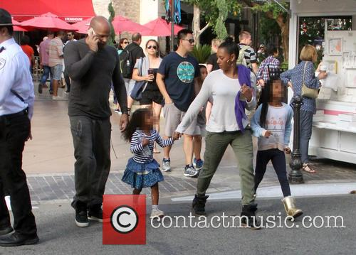 Mel B, Melanie Brown, Stephen Belafonte, Madison Brown Belafonte and Angel Iris Murphy Brown 11