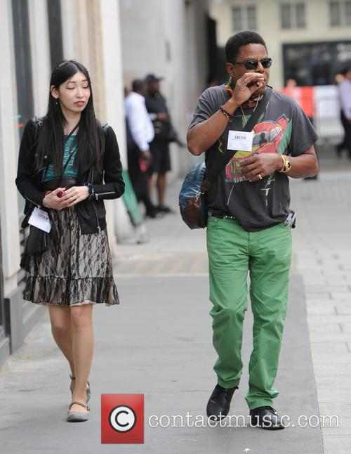 Tito Jackson out in London