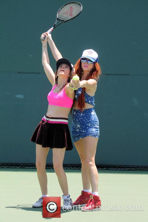 Phoebe Price and Alicia Arden 5