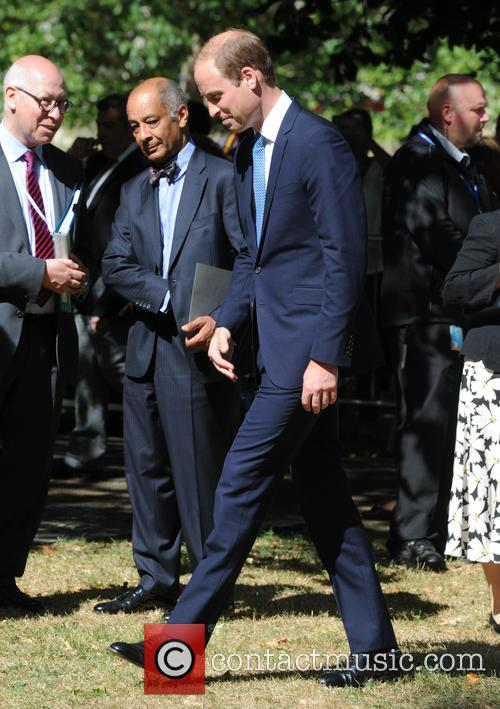 Prince William at service for London bombings