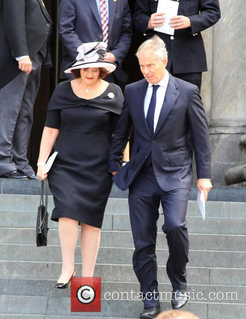 Cherie Blair and Tony Blair 1