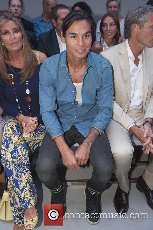 Julio Jose Iglesias at the MFShow Emidio Tucci...