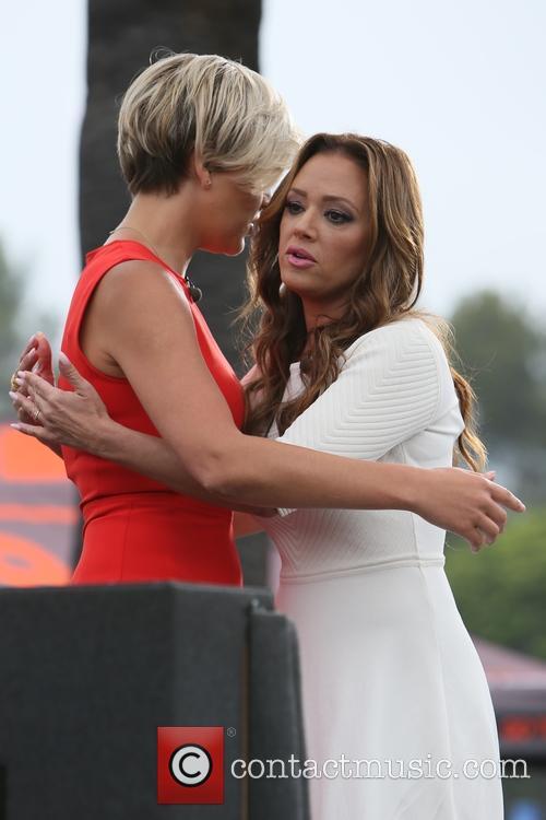 Leah Remini and Charissa Thompson