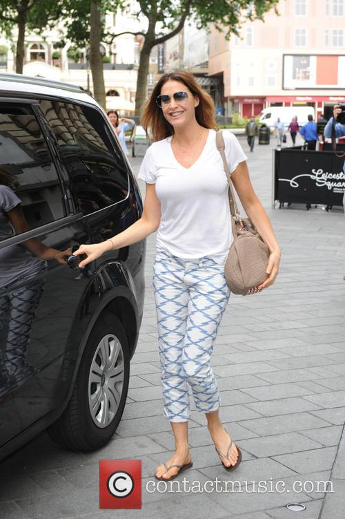 Lisa Snowdon in London