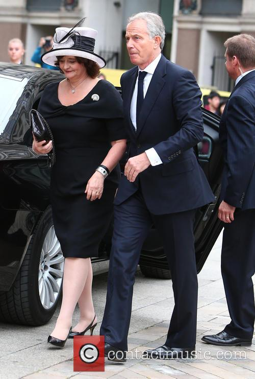 Cherie Blair and Tony Blair 2