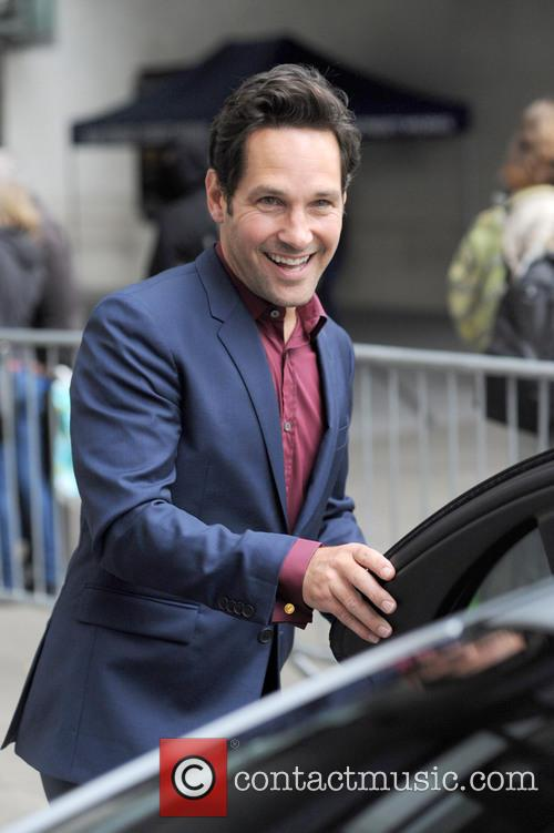 Paul Rudd at BBC Radio 1