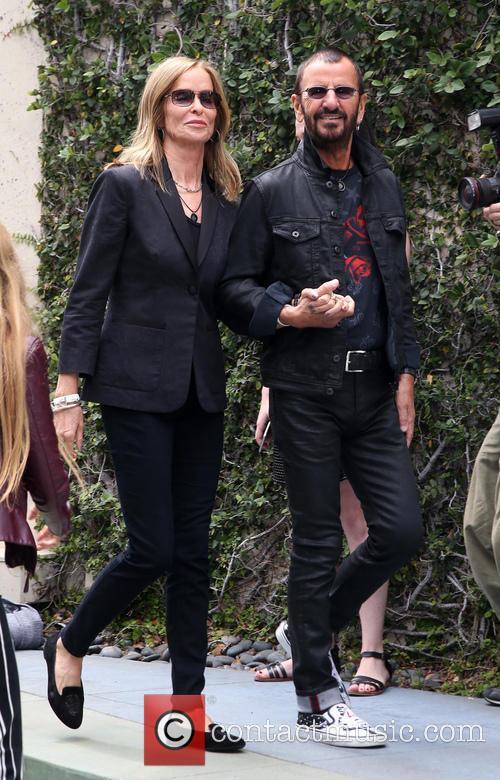 Barbara Bach and Ringo Starr 2