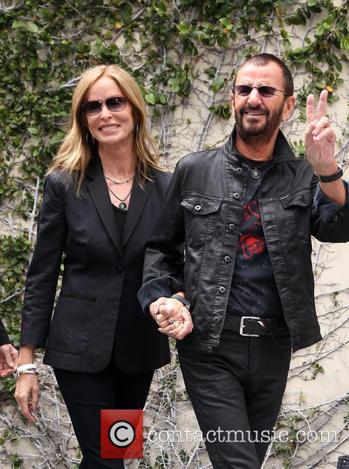 Barbara Bach and Ringo Starr 3