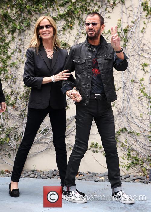 Barbara Bach and Ringo Starr 5
