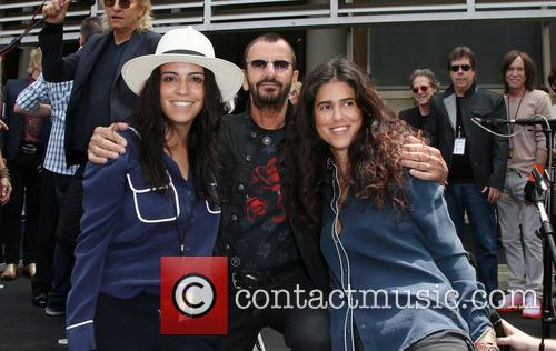 Francesca Gregorini, Ringo Starr and Olga Segura 2