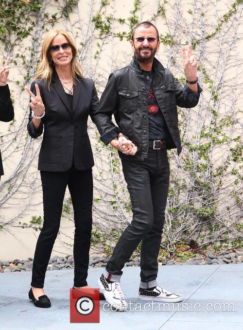 Barbara Bach and Ringo Starr 6