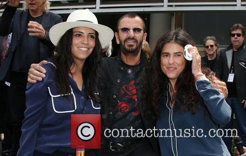Francesca Gregorini, Ringo Starr and Olga Segura 3
