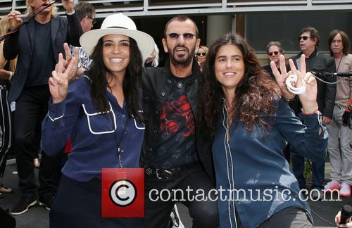 Francesca Gregorini, Ringo Starr and Olga Segura 1