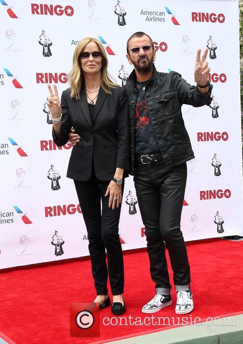 Barbara Bach and Ringo Starr 9