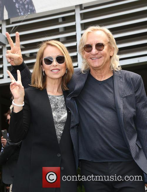 Marjorie Bach and Joe Walsh 1
