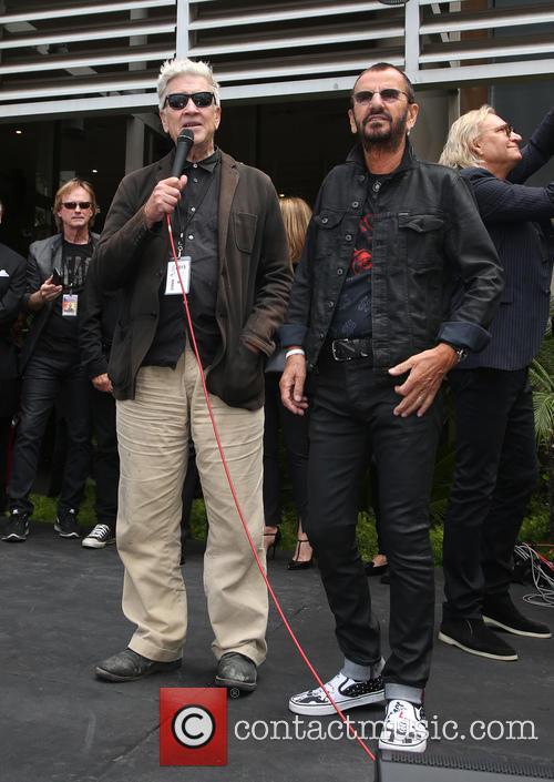 David Lynch and Ringo Starr 2