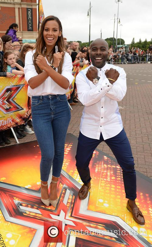 Rochelle Humes and Melvin Odoom 1
