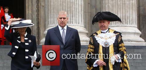 Prince Andrew and Alderman Alan Yarrow 2