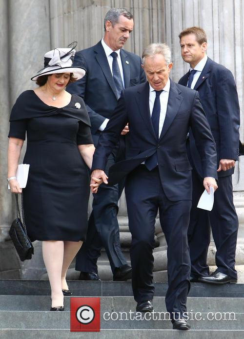 Tony Blair and Cherie Blair 10