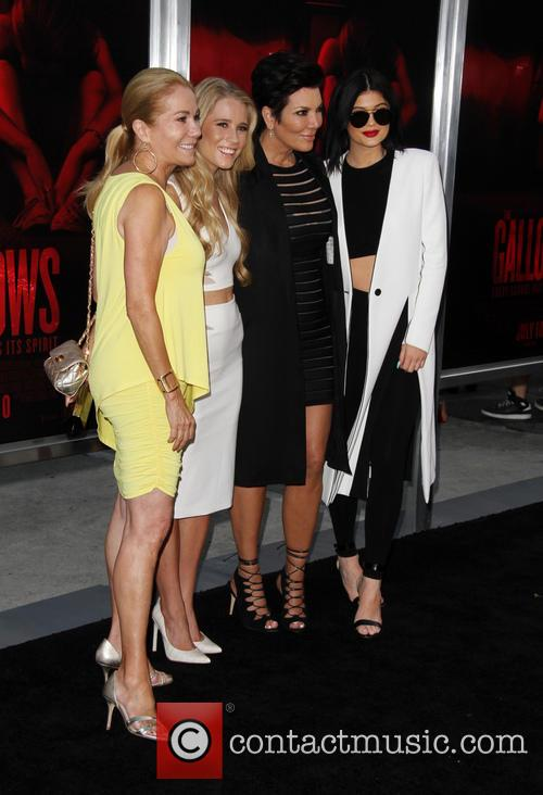 Kathie Lee Gifford, Cassidy Gifford, Kris Jenner and Kylie Jenner 9